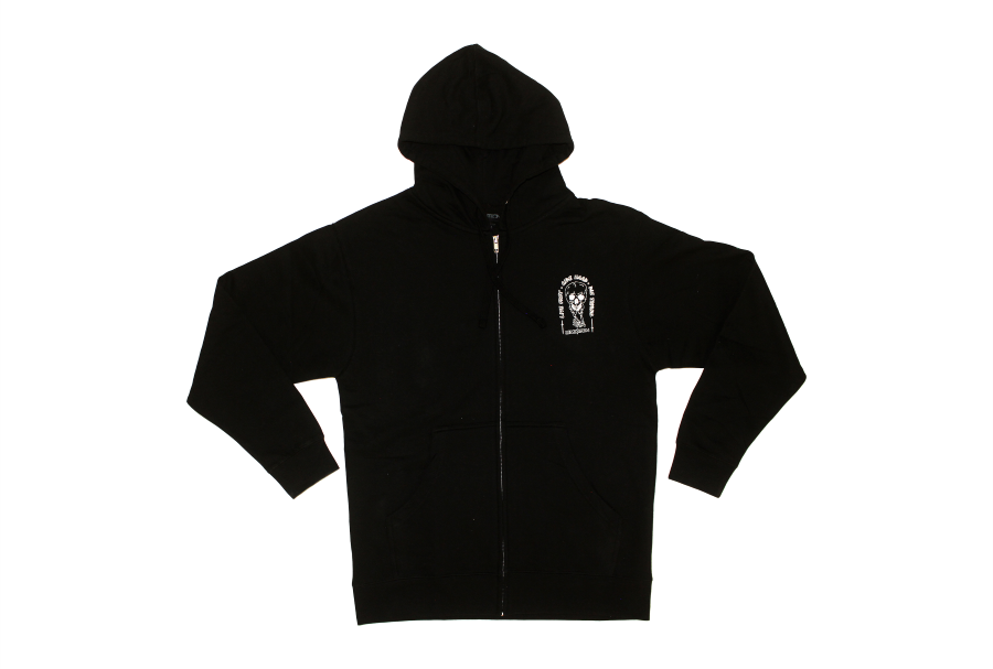 Die Trying Hoodie Front Scale